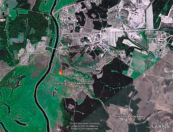 Карта ГШ КА 1941 год Бои под Спас-Деменском 3 - 5