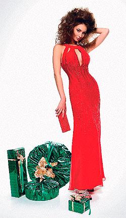 Дизайнерское вечернее платье из нежного шифона.