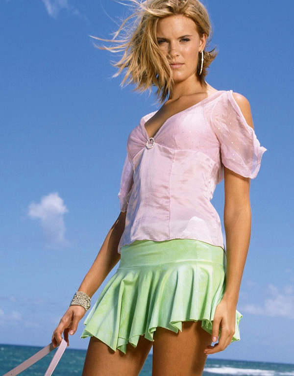 Рост девушки в мини юбках