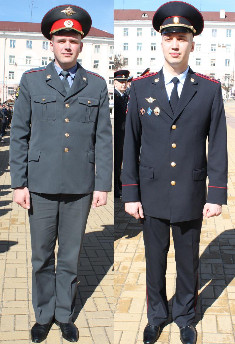 Одежда по уставу полиции 107