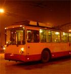 Маршрутов 8 и 9. В Пензе изменилась схема движения троллейбусов.  28.12.2011.