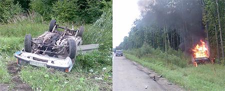 Эта авария стала самой страшной в Калуге на прошлой неделе