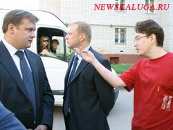 Любимов пообщался с жителями