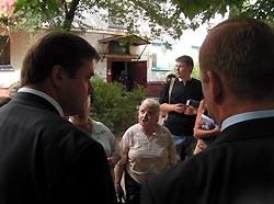 И.о. мэра Калуги общается с народом