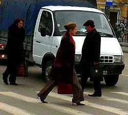 Калужане попадают под колеса авто на пешеходных переходах