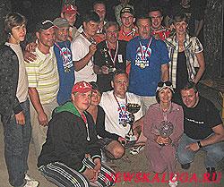 Победители соревнований не дали увезти главный приз из Калуги