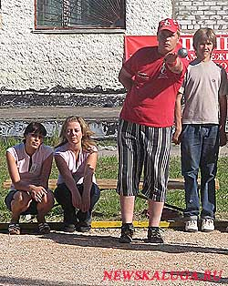 Петанк в Калуге уже не редкость