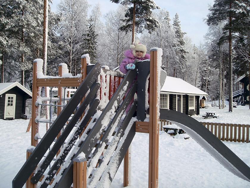 В финляндию к йоуллопукки или