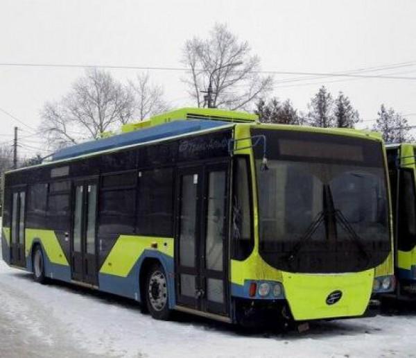 Новые троллейбусы выйдут на