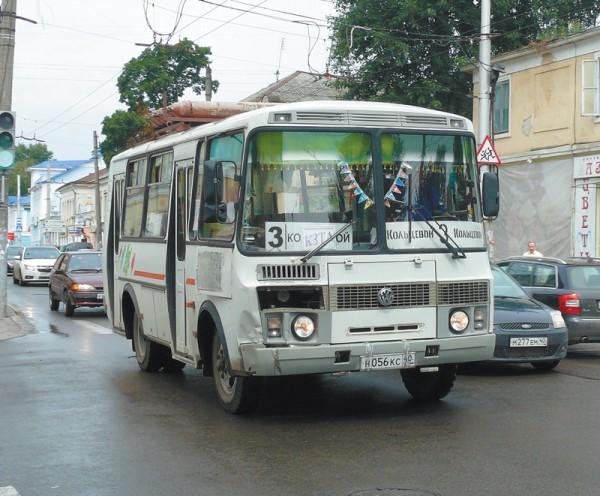 Троллейбусы и маршрутки никак