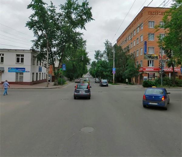 На улице Плеханова в Калуге в