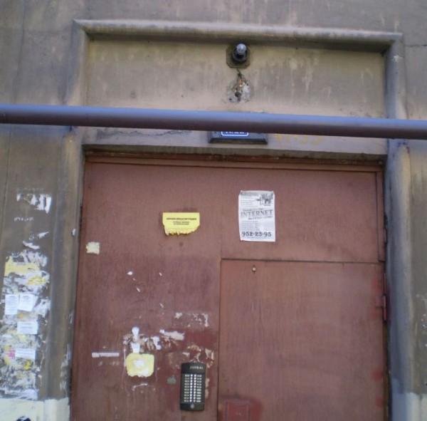 установка железной двери на подъезд с домофоном красногорск