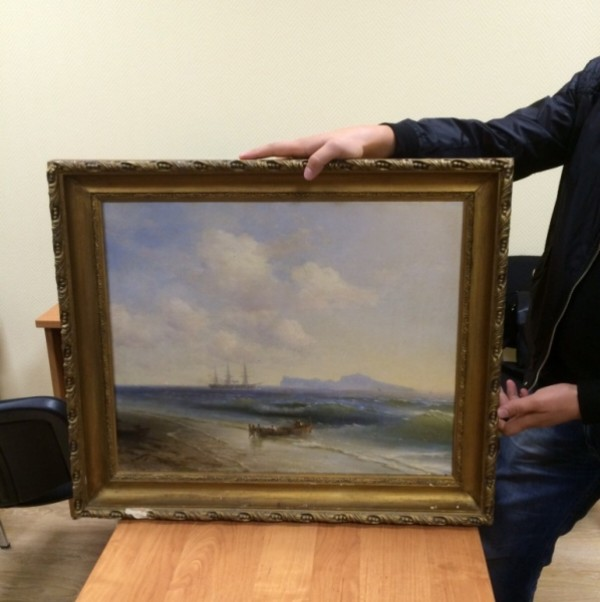 ВКалужской области вынесен вердикт похитителям картин Айвазовского иПоленова