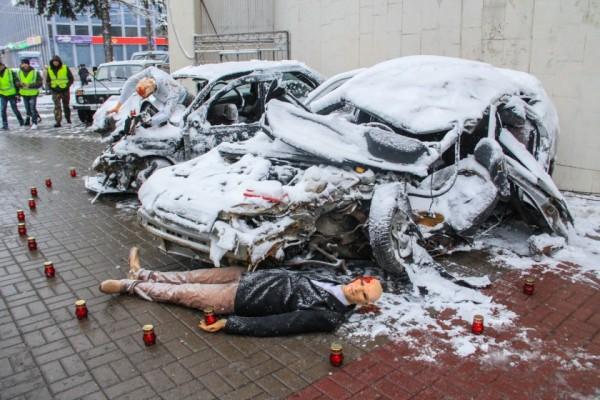 Всамом начале года вНовороссийске вДТП погибло 39 человек