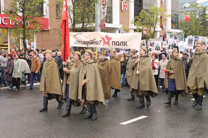 Около 750 тыс. человек принимало участие вшествии «Бессмертный полк» в столице