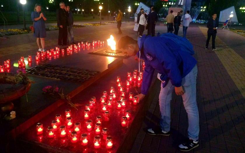Сотню свечей зажгут наплощади Победы вдень начала ВОВ