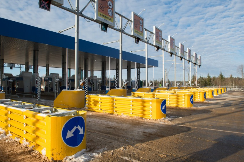 Стоимость проезда через отремонтированный участок М-3 «Украина» подорожает