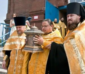 В Калугу везут мощи князя Владимира и Николая Чудотворца
