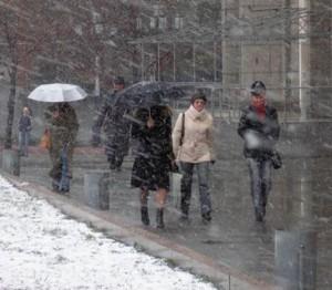К вечеру понедельника, 9 декабря, температура воздуха в Калуге