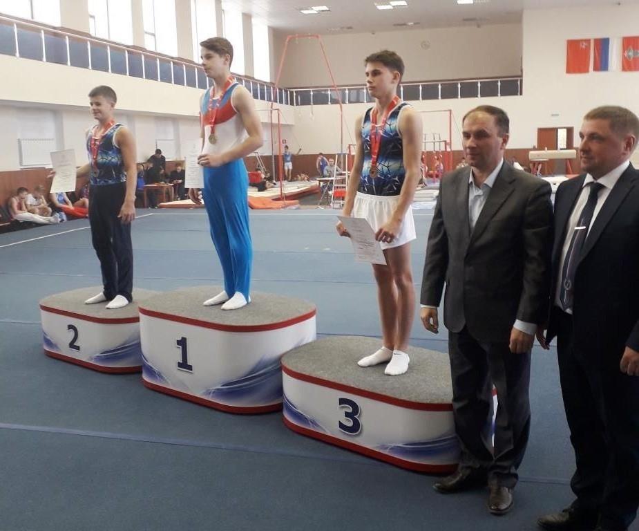 Калужские гимнасты выиграли три медали на всероссийских соревнованиях