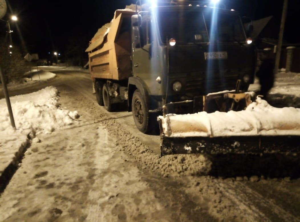 уборка снега снегопад калуга 22 ноября