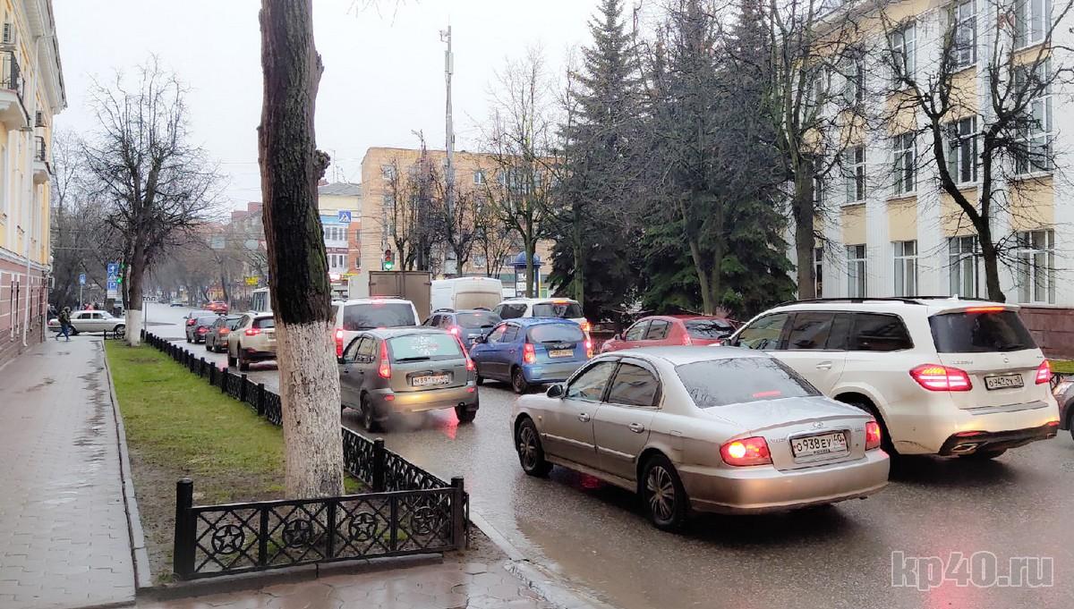 Улица Суворова Калуга