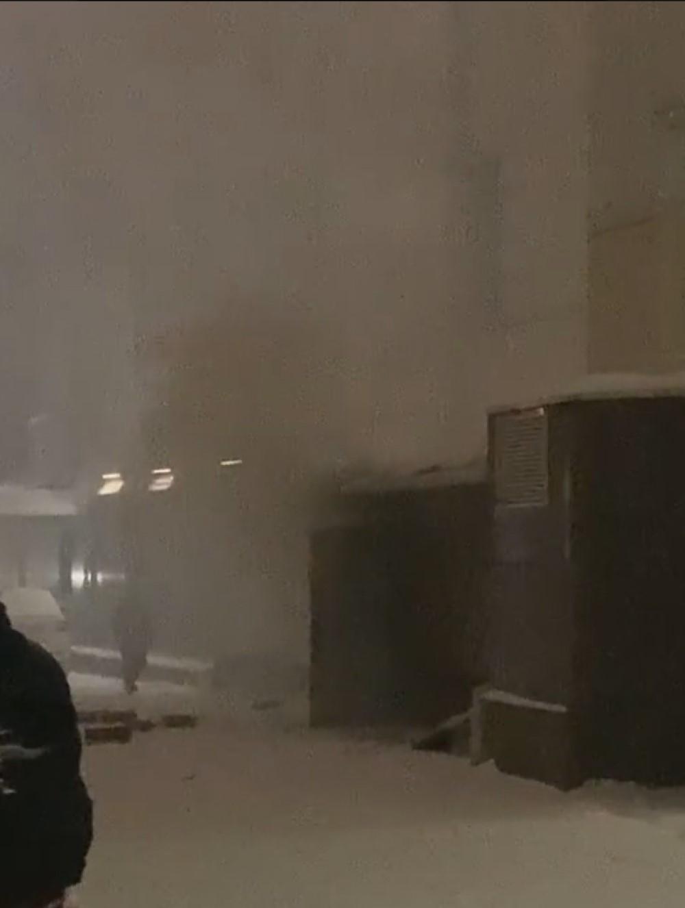 Пожар Калуга торговый центр