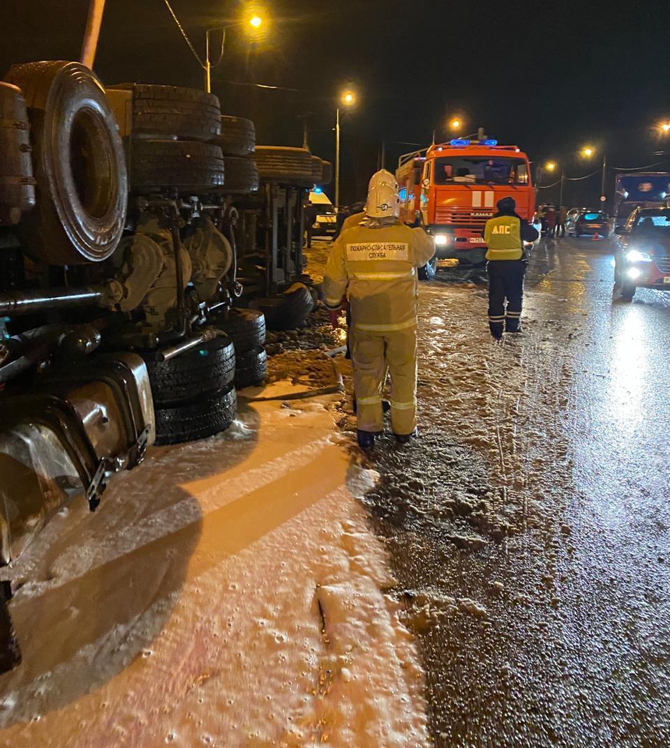 ДТП калуга медынь 24 ноября автобус ман фото грузовик