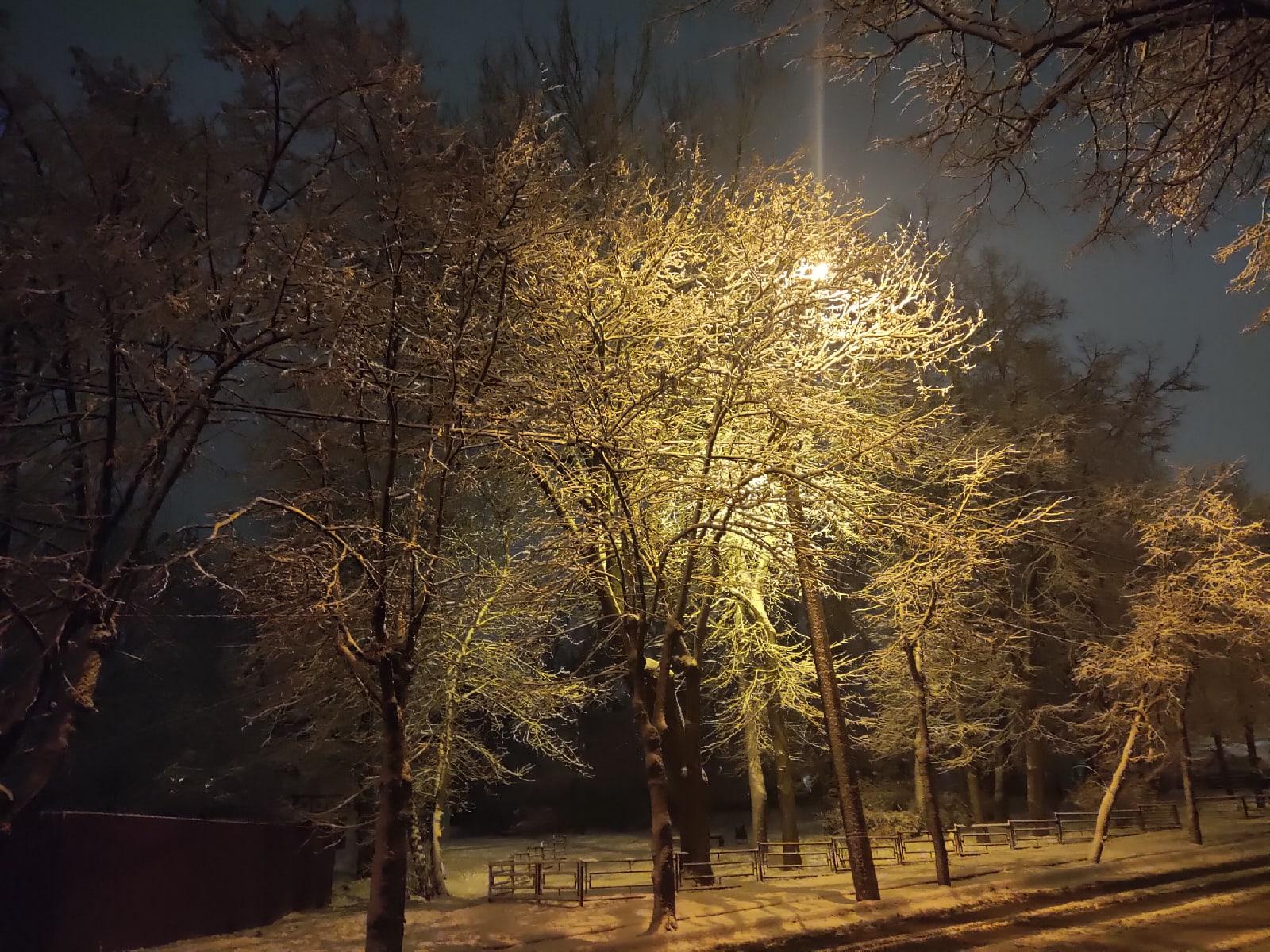 Снег Калуга снегопад 2020 фоторепортаж