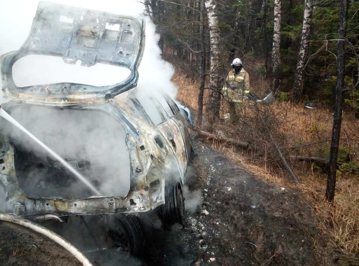 Авария в Калужской области Рено