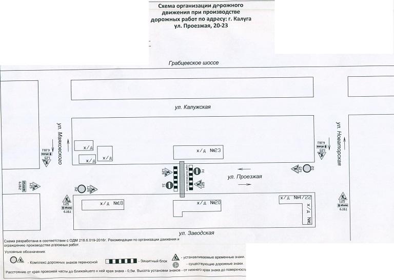 Схема перекрытия Калуга