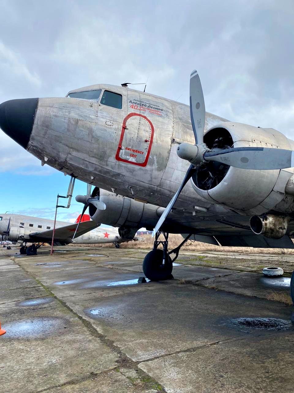 Самолёты арестовали в Калужской области
