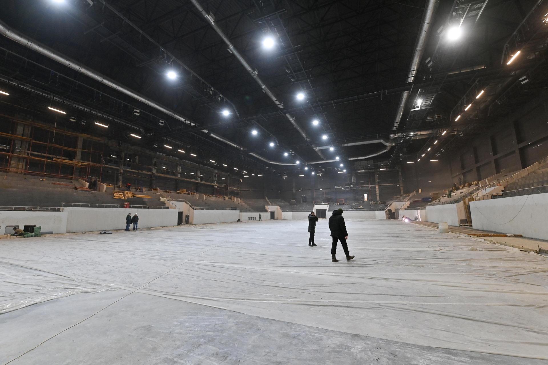 Дворец спорта Калуга