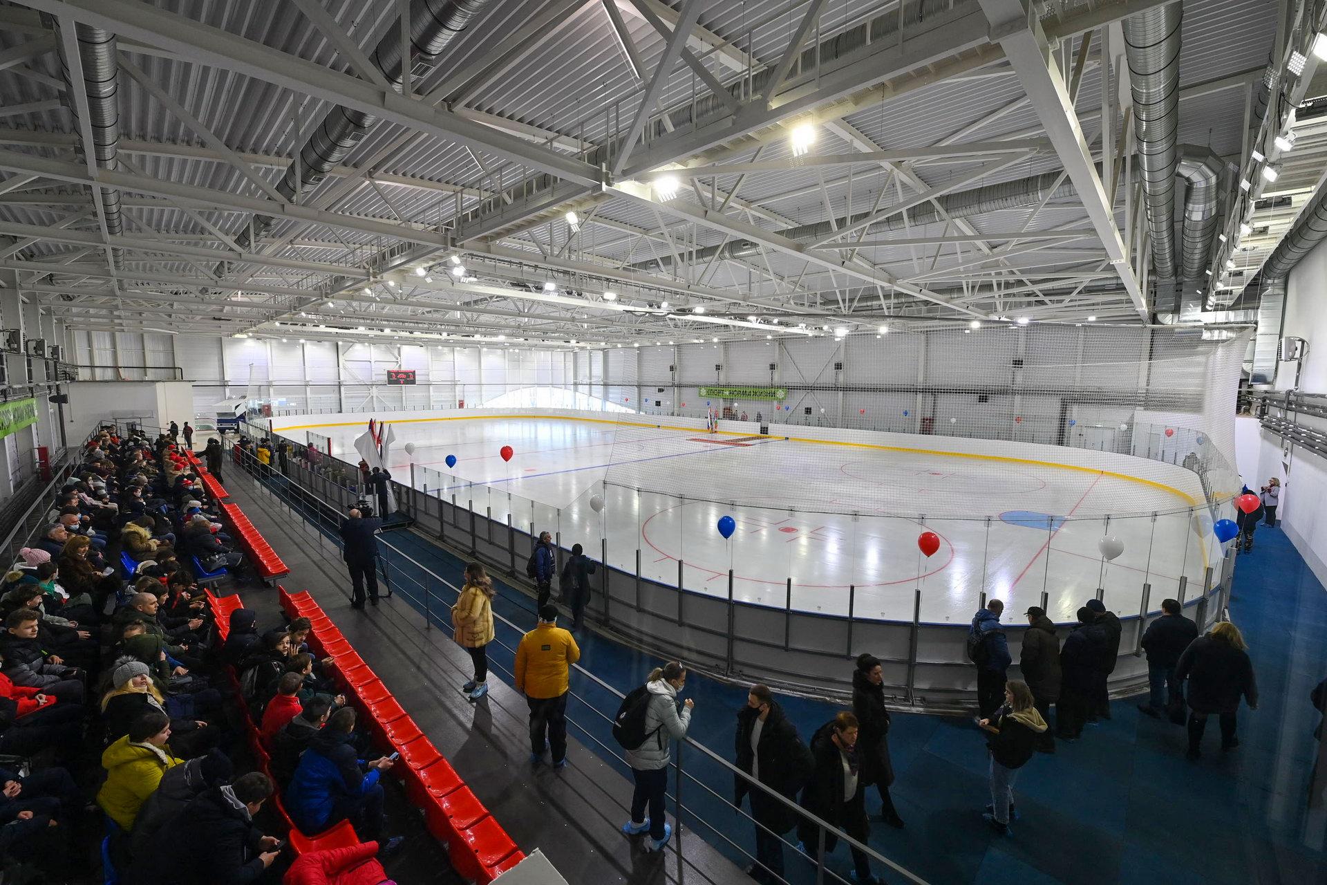 кондрово ледовая арена угра открытие 11 марта 2021 года