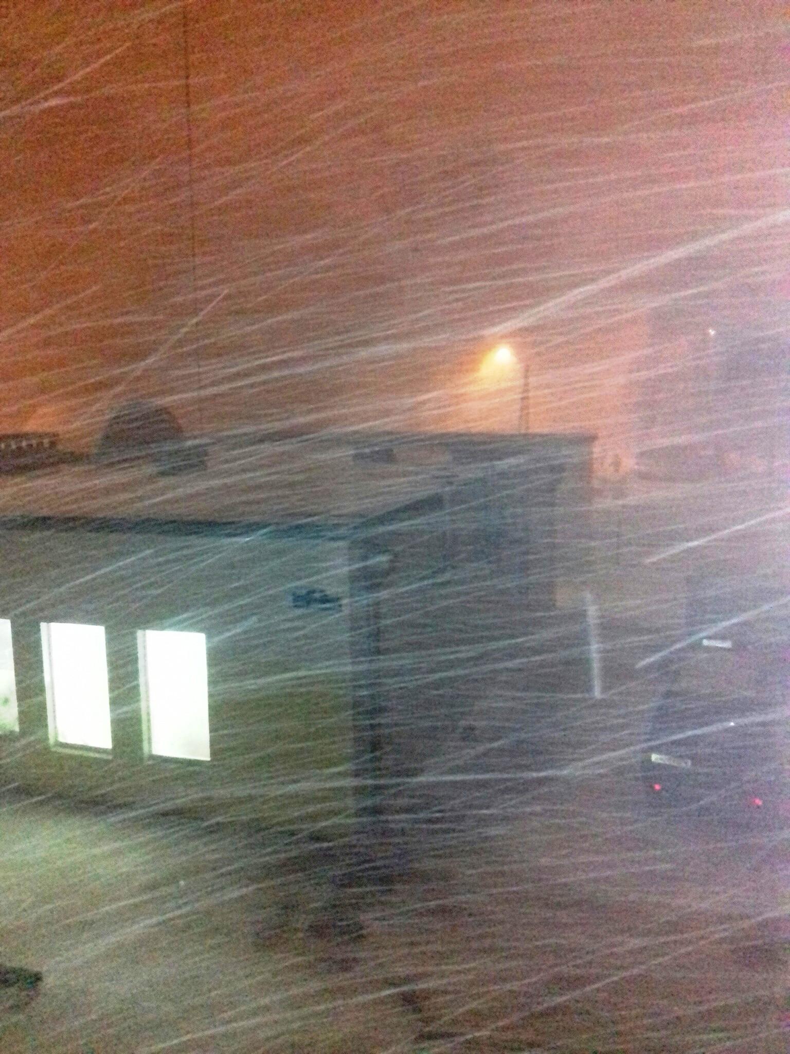 Снежный шторм обрушился на Калугу 25 января