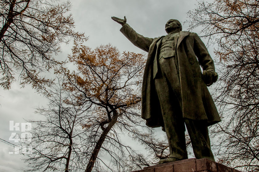 Памятник Ленину в Боровске.