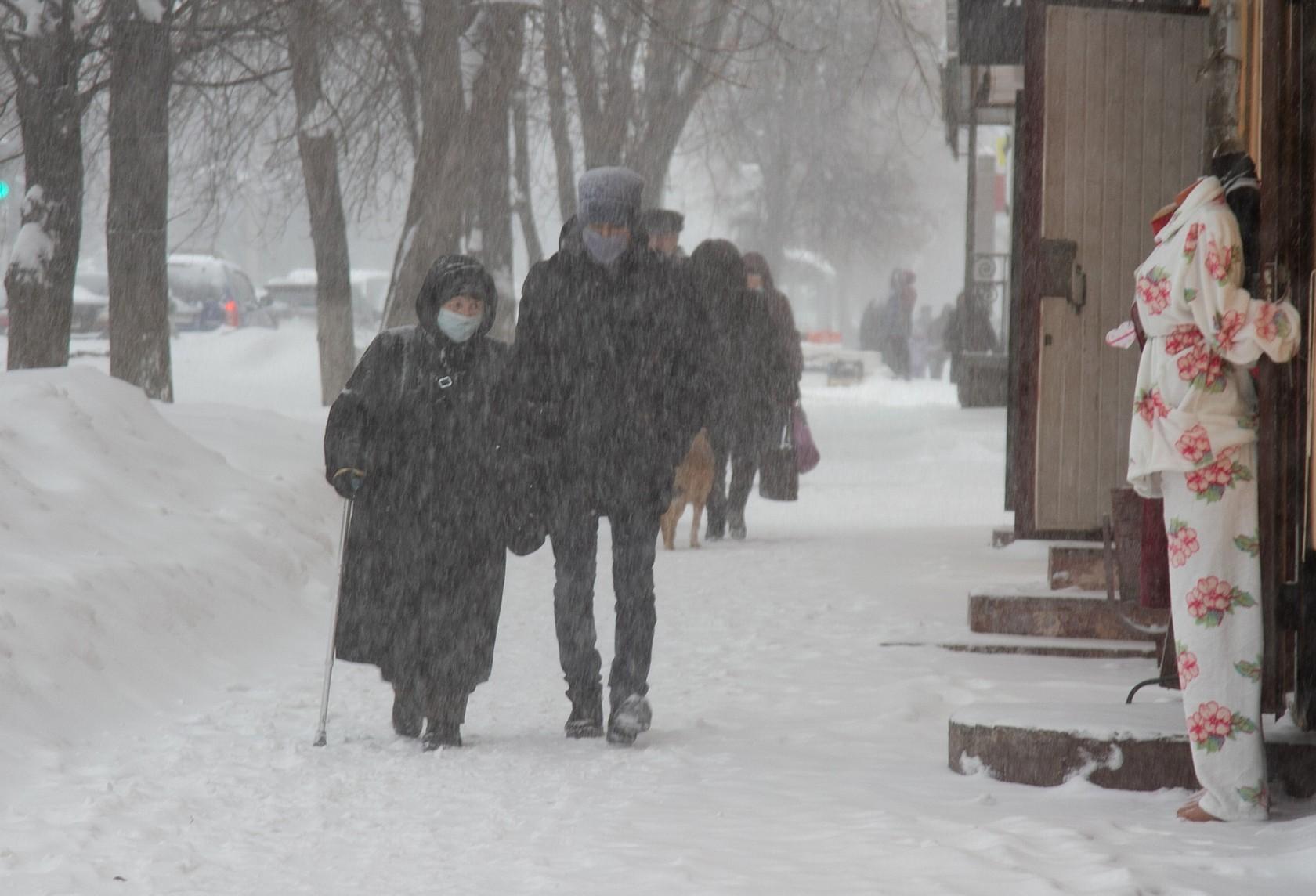 снегопад калуга 12 февраля фоторепортаж
