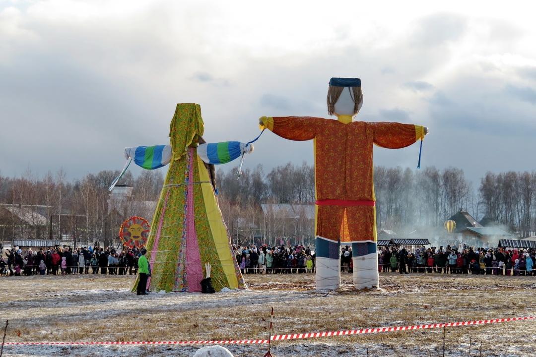 Масленица в Калужской области