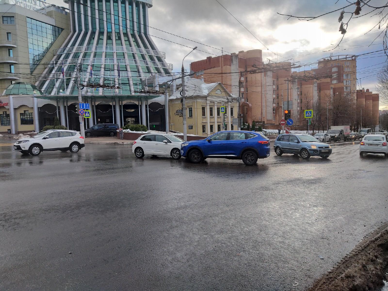 ДТП калуга Гагарина 24 ноября
