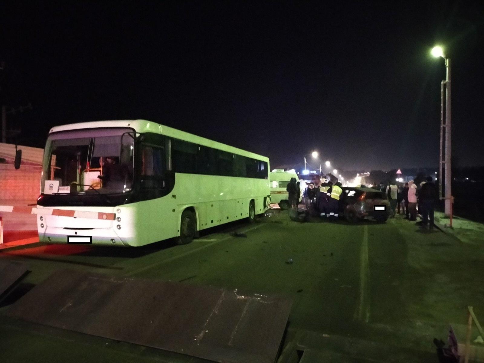 ДТП автобус Калужская область