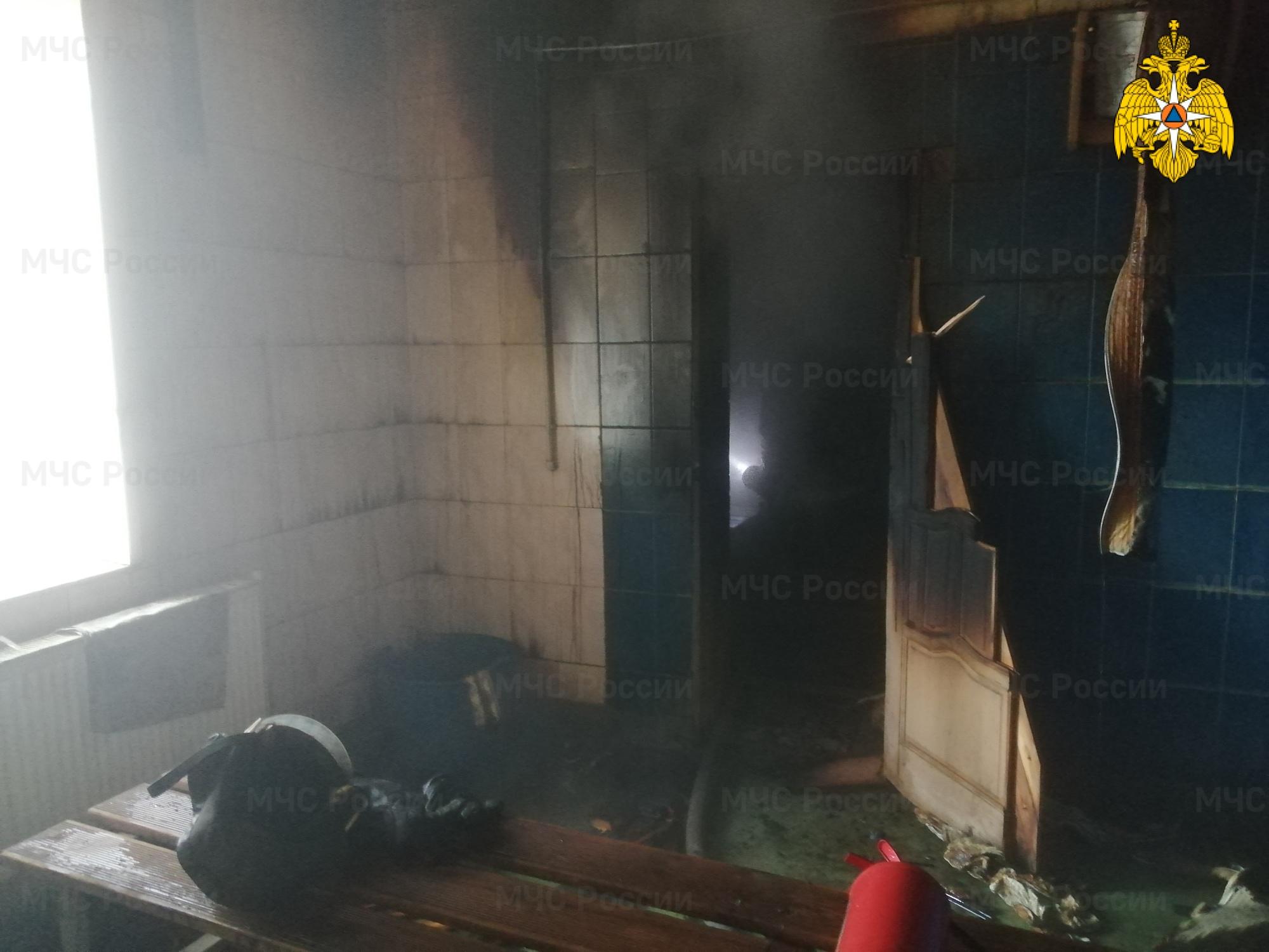 пожар киров баня 27 февраля 2021 года