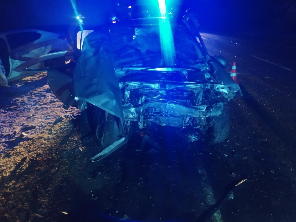 ДТП Бабынинский район Калужской области трасса М3 Украина 5 декабря погиб Рено мазда