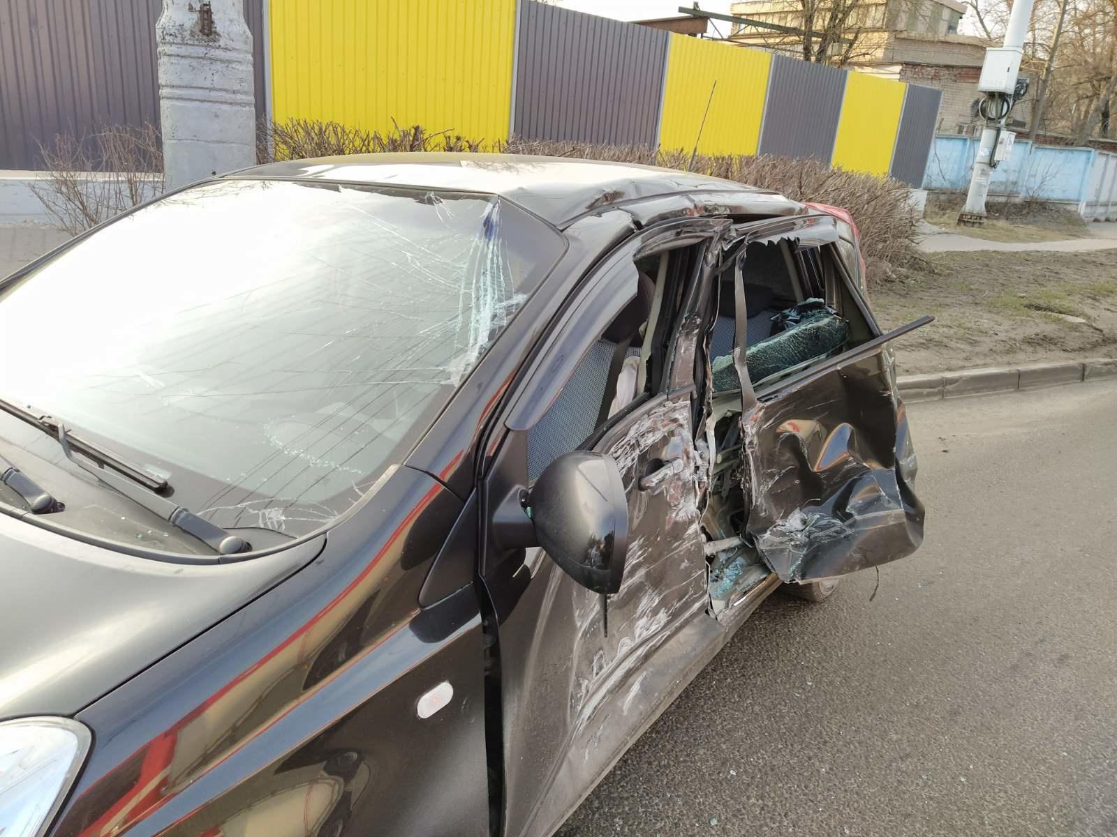 Авария в Калуге 18 марта