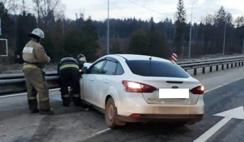 Авария Калуга Фокус Форд