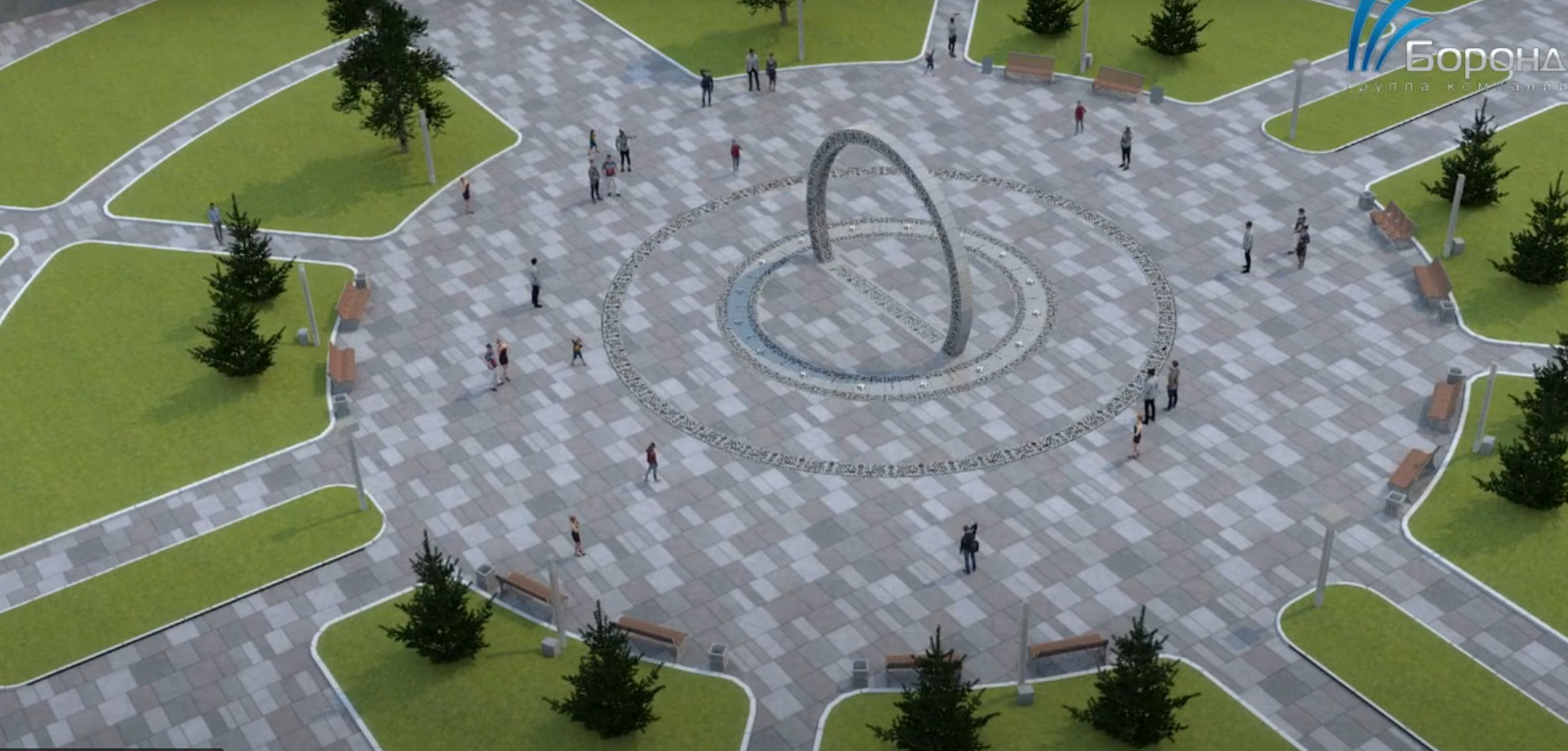 калуга новый фонтан марата 1 апреля 2021 года
