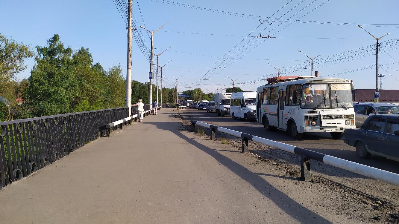Пробки в Калуге
