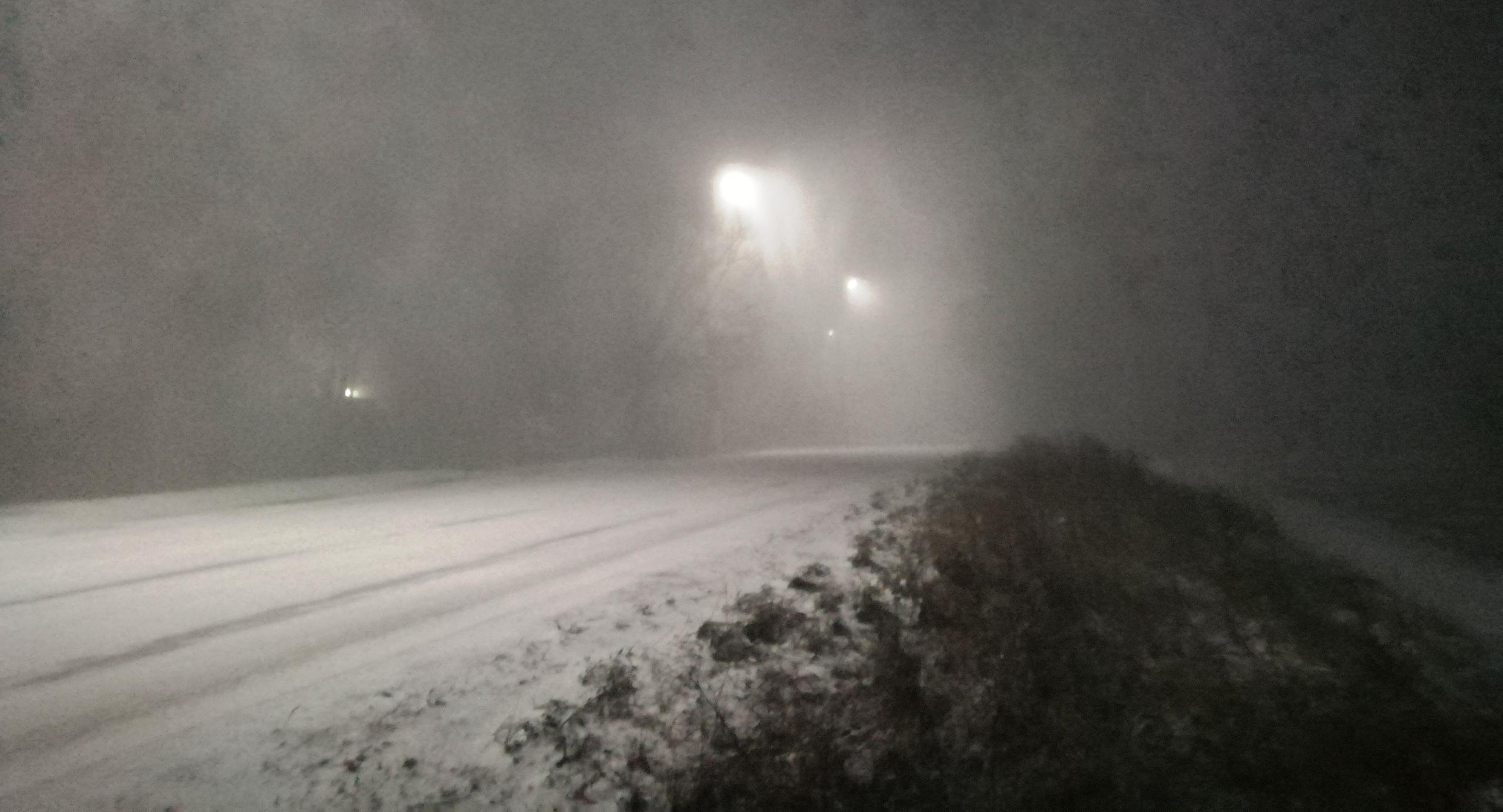 Гроза в январе! На Калугу обрушился снежный шторм