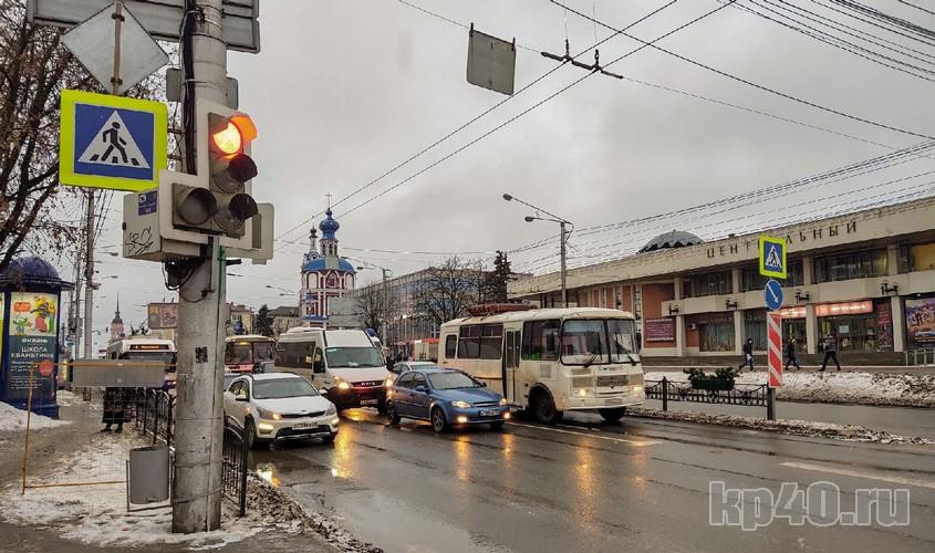 Перекрёсток Ленина и Кирова.