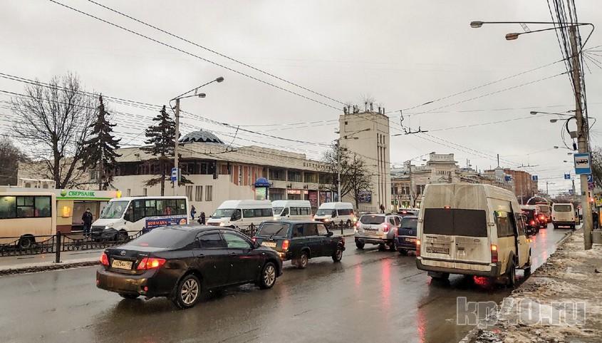 Участок Кирова от Московской до Ленина - один из самых проблемных участков города.