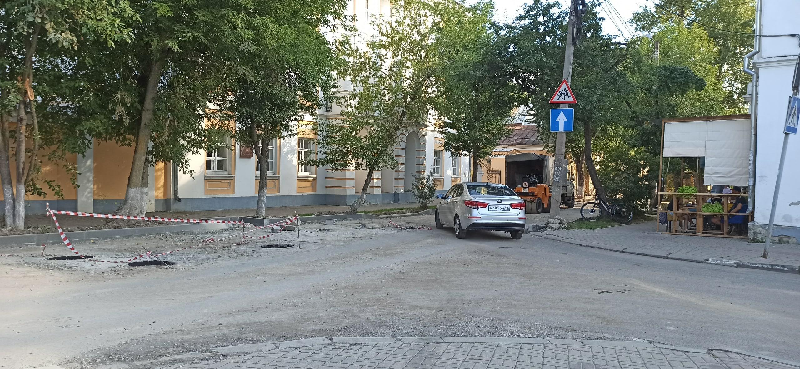 Ремонт улицы Воскресенская в Калуге